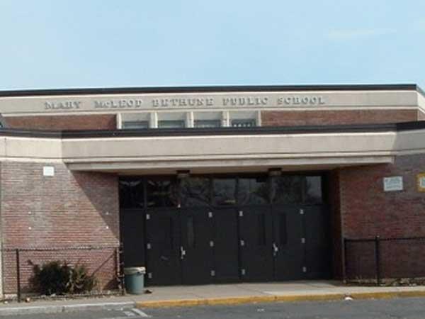 Mary McLeod Bethune Elementary School. (Photo from http://webgui.phila.k12.pa.us)