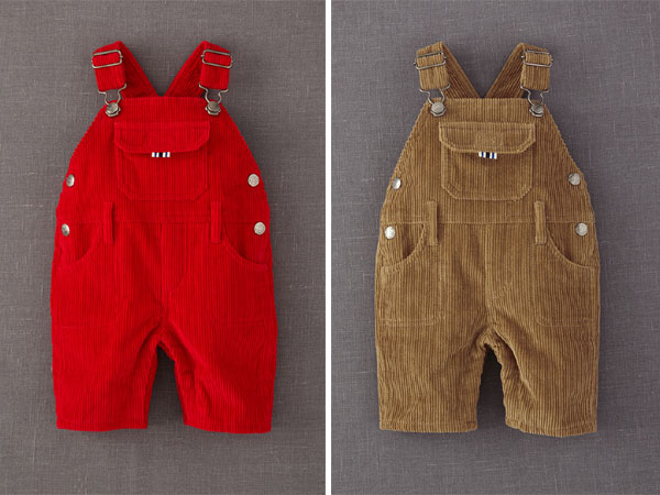 J.P. Boden recalled Mini Boden Chunky Cord Dungarees.(Photos from CSPC.gov)