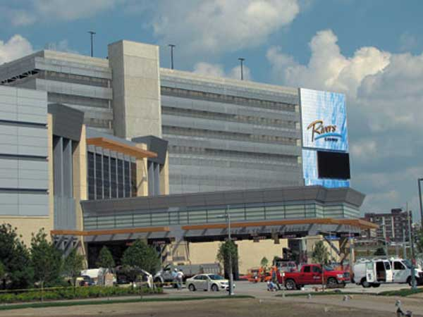 Rivers Casino in Pittsburgh.
