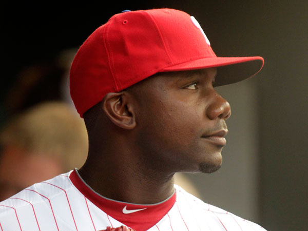 Phillies first baseman Ryan Howard. (H. Rumph Jr/AP)