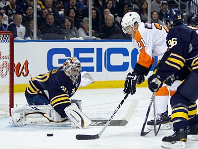 The Flyers could not score on Sabres goalie Ryan Miller in Game 4 on Wednesday night. (Yong Kim/Staff Photographer)