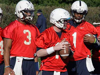 Penn State head coach Bill O´Brien named Matt McGloin the team´s number one quarterback. (Gene J. Puskar/AP)