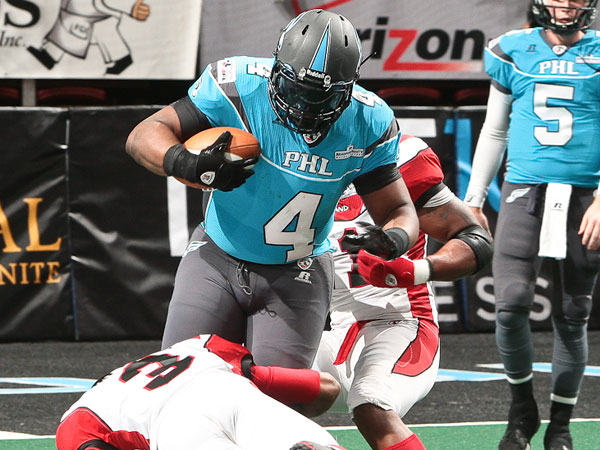 Soul fullback Derrick Ross. (Photo by Darryl Rule)