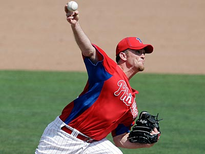 Brad Lidge pitched one scoreless inning for double-A Reading. (David Maialetti/Staff File Photo)