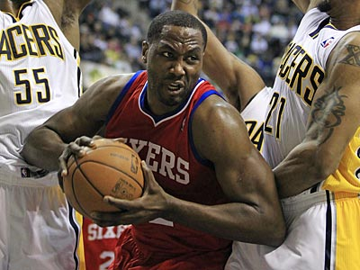 The Sixers will use the amnesty clause on Elton Brand. (Darron Cummings/AP)