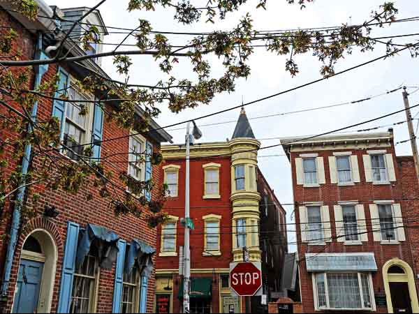 Queen Village on 4/17/13.  Here, the view from the 100 block of League Street.  ( APRIL SAUL / Staff )