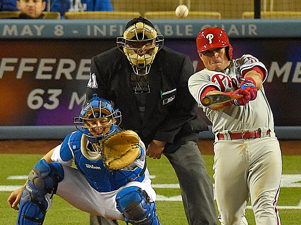 Phillies catcher Carlos Ruiz. (Mark J. Terrill/AP)