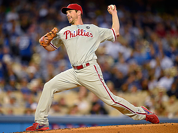 Phillies starting pitcher Cliff Lee. (Mark J. Terrill/AP)