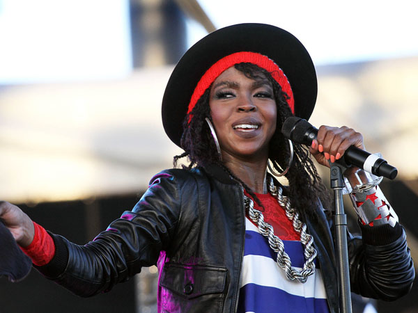 FILE - This April 15, 2011 file photo shows singer Lauryn Hill performing during the 12th Coachella Valley Music and Arts Festival in Indio, Calif. (AP Photo/Spencer Weiner, file)