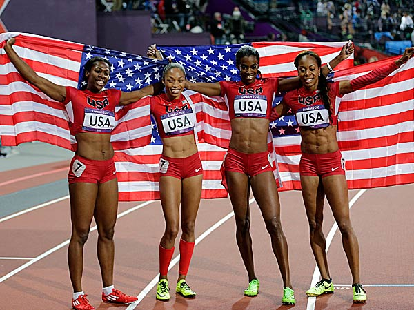 "The Penn Relays again will receive worldwide attention with the 14th annual ""USA vs. the World"" competition. (David J. Phillip/AP)"