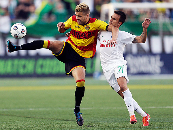 The NASL´s New York Cosmos are part of One World Sports´ portfolio of broadcast rights. (Frank Franklin II/AP file photo)