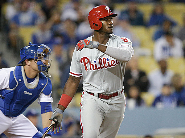 Phillies left fielder Domonic Brown. (Jae C. Hong/AP)