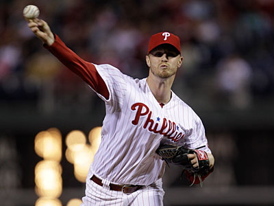 Kyle Kendrick will get the start tonight in Arizona in place of Cliff Lee. (Matt Slocum/AP)