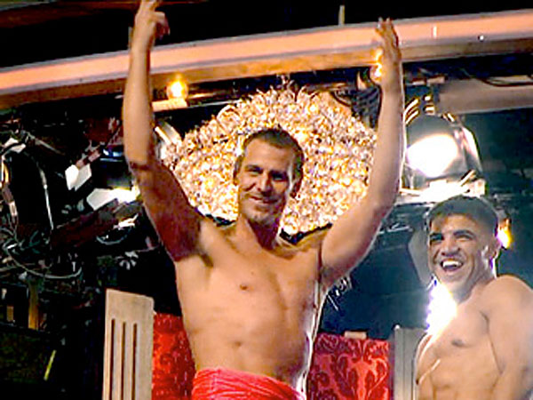 Touchdown, torso for Ingo Rademacher and Victor Ortiz