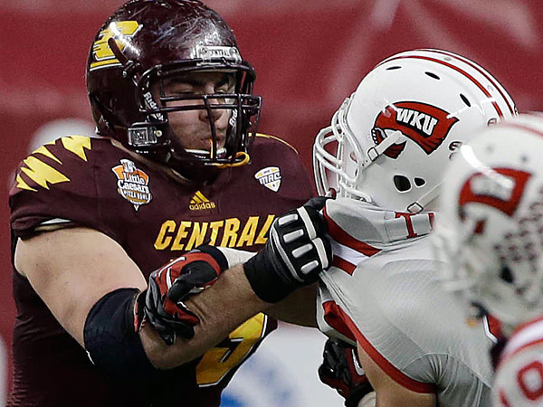 Central Michigan tackle Eric Fisher.