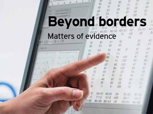 Ernst & Young´s yearly report on the biotechnology industry, entitled Beyond Borders: Matters of Evidence, was released Tuesday.