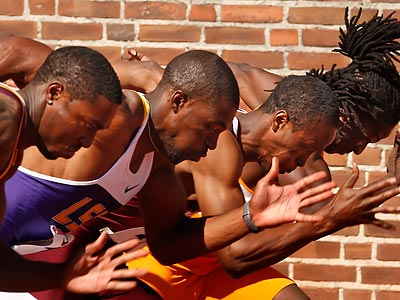Saturday promises to be another action-packed day at the Penn Relays. (Ron Cortes/Staff Photographer)