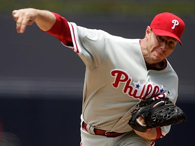 Roy Halladay takes the mound Saturday against the Mets´ Jonathon Niese. (Lenny Ignelzi/AP)