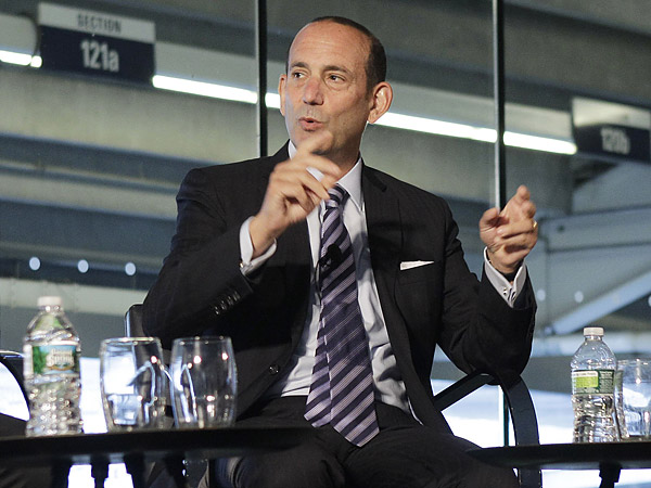 Major League Soccer commissioner Don Garber. (Kathy Willens/AP file photo)