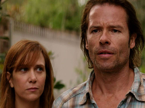 "Love in vain: Kristin Wiig and Guy Pearce in ""Hateship Loveship."" (IFC)"