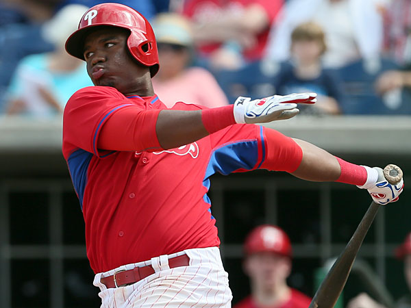 Phillies prospect Maikel Franco. (Yong Kim/Staff Photographer)