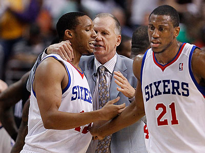 The 76ers´ win over the Heat validated what Doug Collins has been telling his players. (Ron Cortes/Staff Photographer)