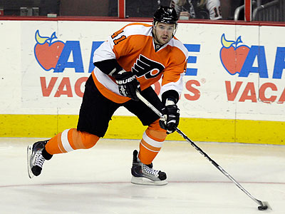 Andrej Meszaros was injured during an offseason workout, the Flyers announced. (Yong Kim/Staff File Photo)