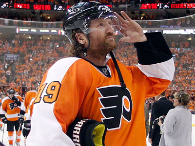 Scott Hartnell, spent three seasons as the Flyers' team representative for the NHLPA. (Yong Kim / Staff Photographer)