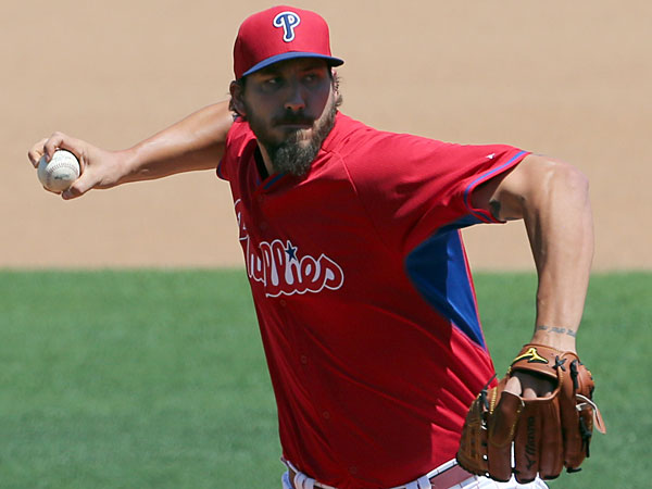 Phillies pitcher Phillippe Aumont. (Yong Kim/Staff Photographer)