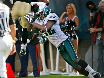 Is Eagles CB Asante Samuel overrated? (Ron Cortes / Staff Photographer)