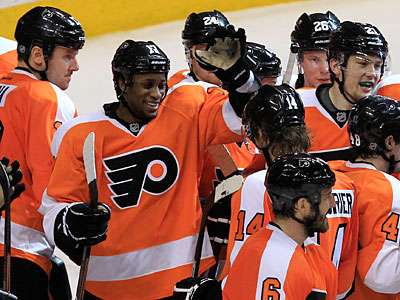 The Flyers were 3-3 against the Devils during the regular season. (Ron Cortes/Staff Photographer)