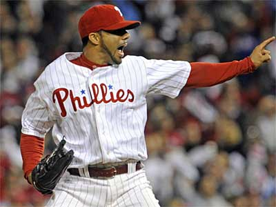 Phillies reliever J.C. Romero has filed a lawsuit in the Superior Court of New Jersey after he was banned 50 games for a positive drug test. (File photo)