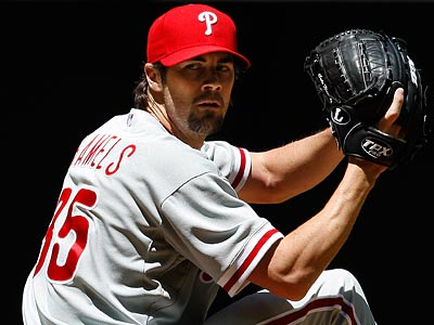 Cole Hamels will start today in the series finale against the Mariners. (Ross D. Franklin/AP Photo)