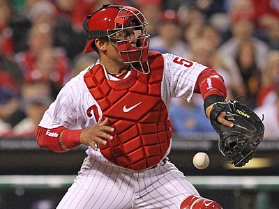 Carlos Ruiz returns to the Phillies for Friday´s game against the Braves. (Michael Bryant/Staff file photo)