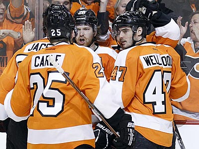 The Flyers will face the Devils in the second round of the Stanley Cup Playoffs. (Yong Kim/Staff Photographer)