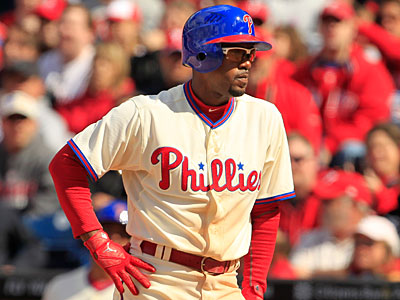 Jimmy Rollins is currently batting .229 with no home runs and three RBIs. (Ron Cortes/Staff Photographer)