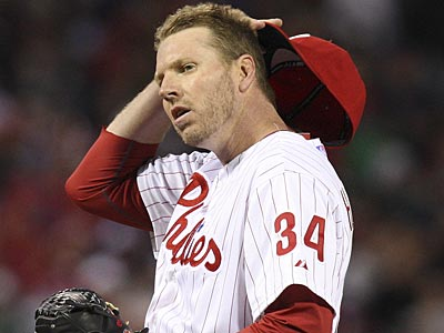 Roy Halladay will see a doctor on Tuesday. (Steven M. Falk/Staff Photographer)