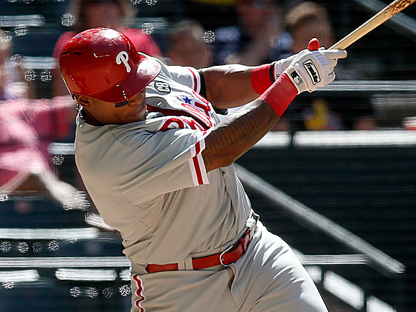 Phillies right fielder Marlon Byrd. (Ross D. Franklin/AP)
