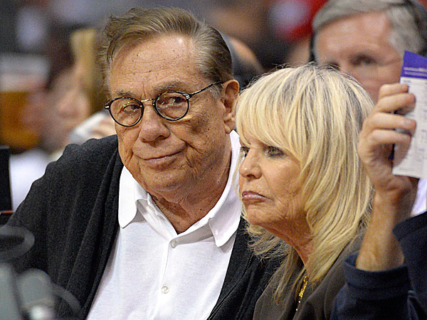 Clippers owner Donald Sterling and his wife, Rochelle. (Mark J. Terrill/AP file photo)