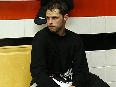 """""""I think he's had a good couple of years here,"""" Flyers general manager Paul Holmgren said of Martin Biron. (Yong Kim/Staff Photographer)"""