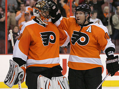 The Flyers will face the Boston Bruins in the second round of the playoffs. (Yong Kim/Staff file photo)