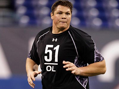 Baylor´s offensive lineman Danny Watkins was selected by the Eagles with the 23rd overall pick. (Darron Cummings/AP)