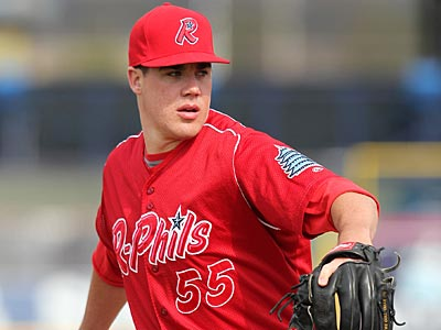Phillies prospect Trevor May. (Mike Janes/AP)
