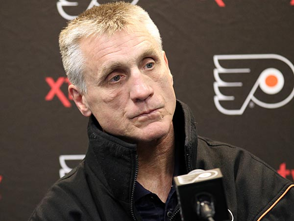 Flyers general manager Paul Holmgren. (Yong Kim/Staff Photographer)