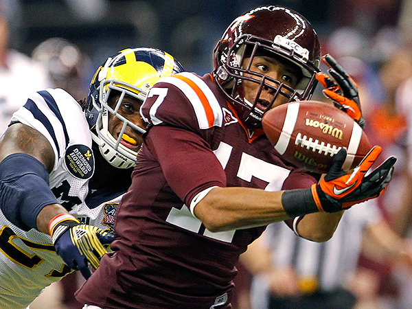 Virginia Tech cornerback Kyle Fuller. (Dave Martin/AP Photo)