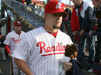 Joe Blanton will make his first start of the season for the Phillies on Monday. (Charles Fox / Staff Photographer)