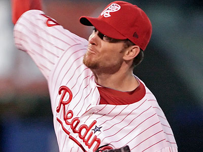 Brad Lidge has been activated to the Phils roster. Antonio Bastardo has been optioned to the Iron Pigs. (Steven M. Falk/Staff Photographer)