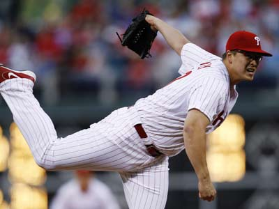 Vance Worley will make his second start of the season tonight against the Nationals. (Matt Slocum/AP)