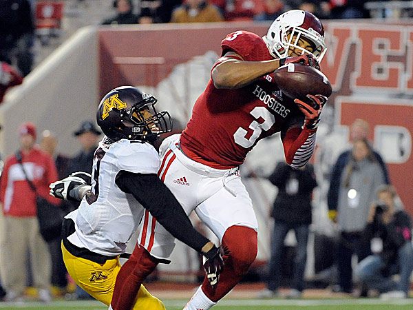 Indiana wide receiver Cody Latimer. (Alan Petersime/AP)
