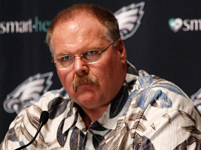 Andy Reid and the Eagles still have off-season moves to make. (Matt Slocum/AP)